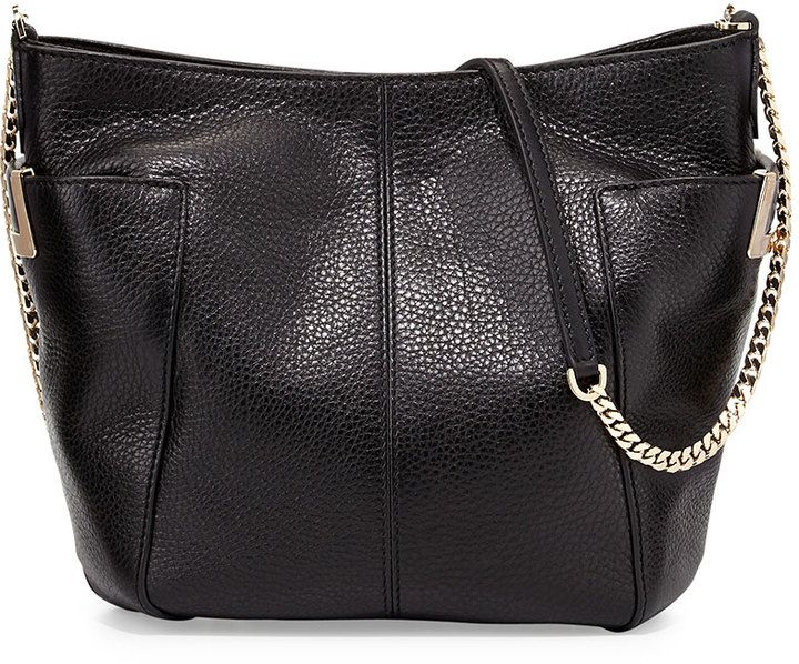 $1,225, Black Leather Crossbody Bag: Anabel Leather Crossbody Bag Black by Jimmy Choo. Sold by Neiman Marcus. Click for more info: http://lookastic.com/women/shop_items/138065/redirect