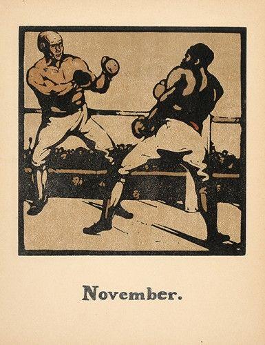 NICHOLSON, William. November [boxing]. #boxing #sports