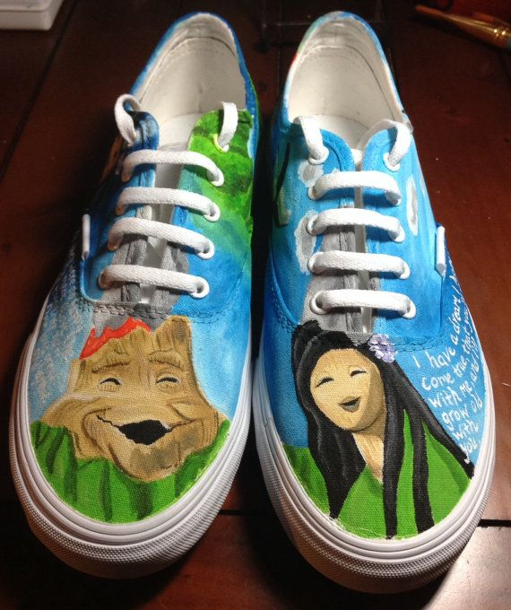 I Lava You custom painted shoes. by LaceysCraftyLetters on Etsy