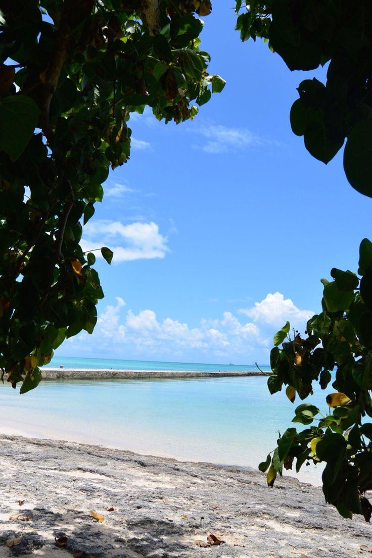Taketomi island,Okinawa 西桟橋@竹富島 2014.07.21