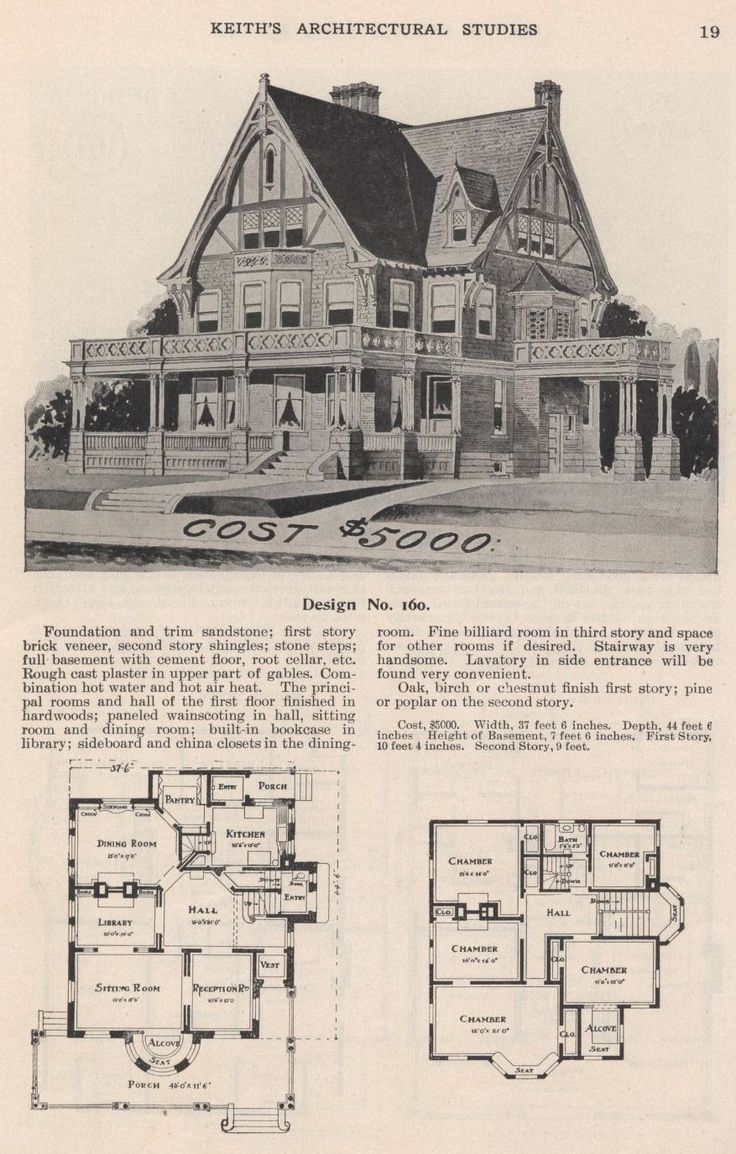 Keith's Architectural Studies, 1905.  The Keith Co. From the Association for Preservation Technology (APT) - Building Technology Heritage Library, an online archive of period architectural trade catalogs. Select an era or material era and become an architectural time traveler.
