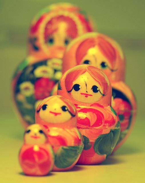 Russian Nesting Dolls: Pink Sherbet, Dolls Matroyshka, Russian Dolls, Things People, Nests Dolls, Baby Girls, Matryoshka Dolls, Russian Matryoshka, Russian Nests