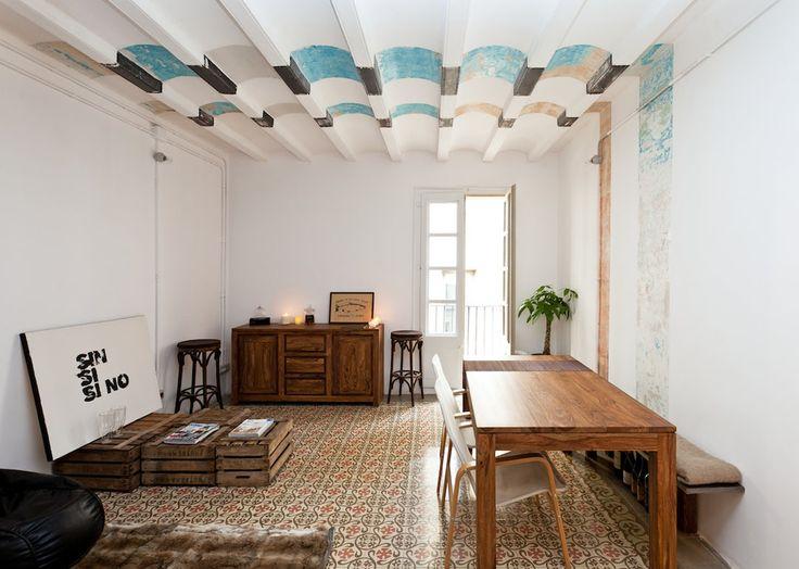 Mosaic Motifs: 13 Barcelona Apartment Floors Recalling Art Nouveau - Architizer