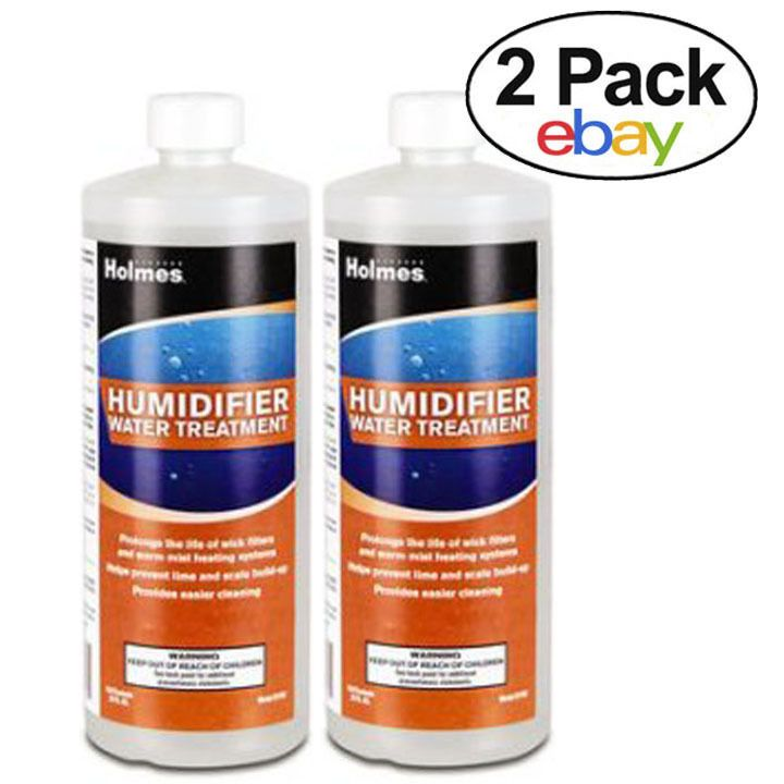 HOLMES, HUMIDIFIER WATER TREATMENT, 32 FL. OZ. Twin Pack #Holmes