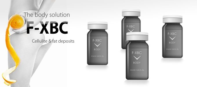 FUSION MESO. BEAUTY. F-XBC. Serums for cellulite & fat deposits