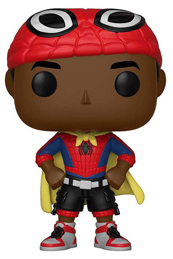 Animated Spider-Man Keychain Miles Morales Funko Pop