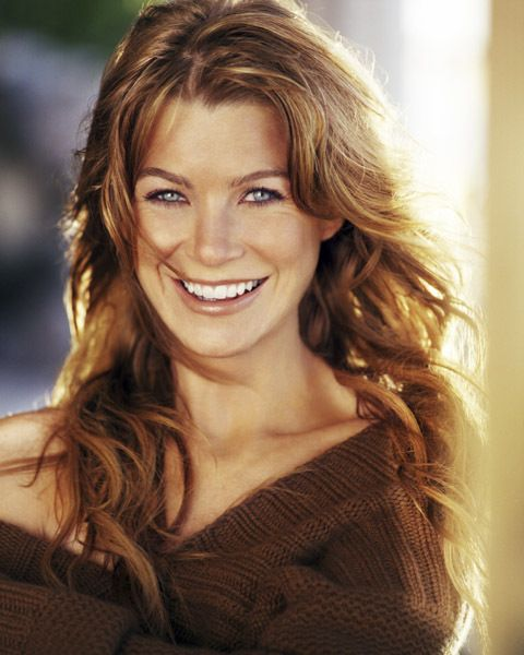 I hope to be just like Ellen Pompeo (Meredith Grey)----but an actual doctor too!