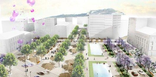 Re-Think Athens Winning Proposal,Omonia Square