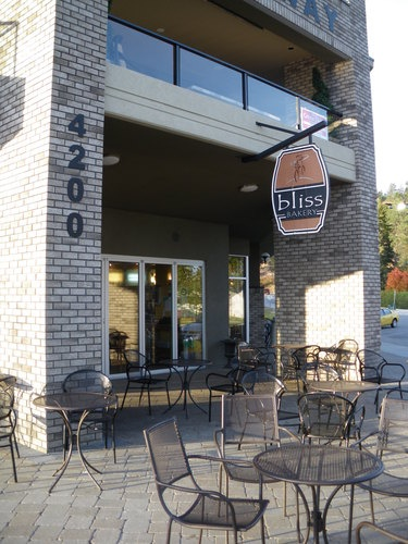 Bliss Bakery, Peachland, B.C. - delightful coffee.