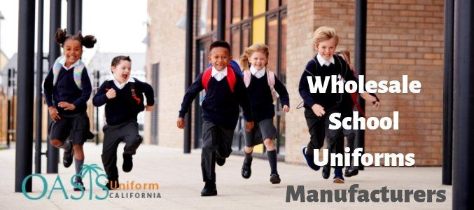 With wholesale school uniforms manufacturers on your side