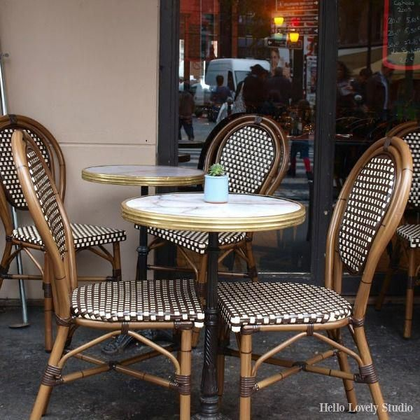 French Bistro Chairs Decor, French Bistro Furniture