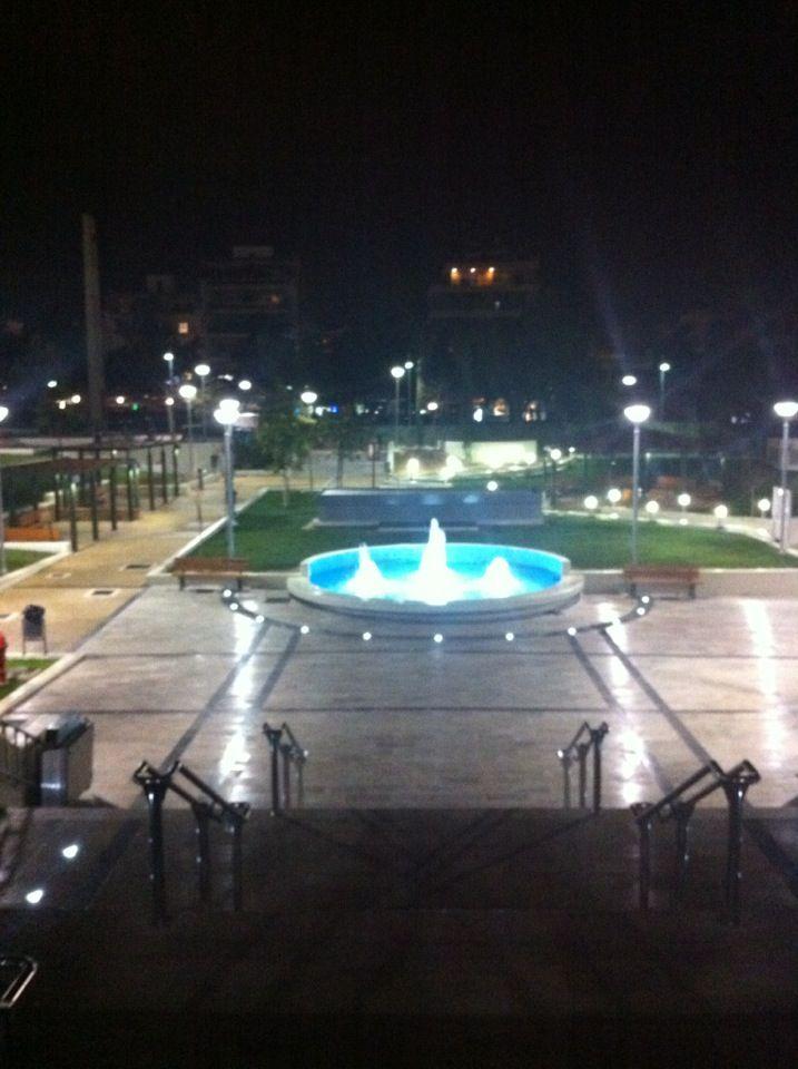 Πλατεία Καρύλλου (Karyllou Square) στην πόλη Νέα Σμύρνη, Αττική