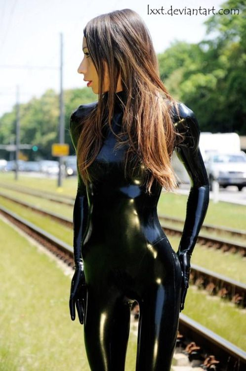 Lrcirl Latex Rubber Clothing In Regular Life Latex