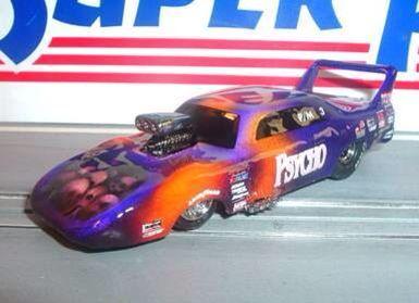 Ho scale slot car drag racing