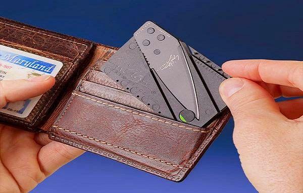 La primera navaja plegable tamaño tarjeta - TVEstudio