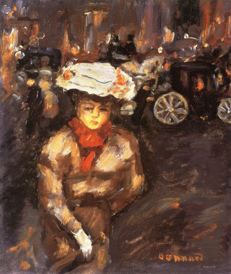 bofransson:  Girl in the Street Pierre Bonnard - circa 1898: