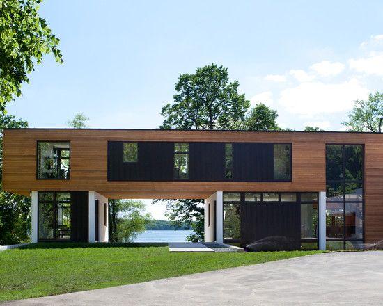 Modern Lake House Rebuild Project