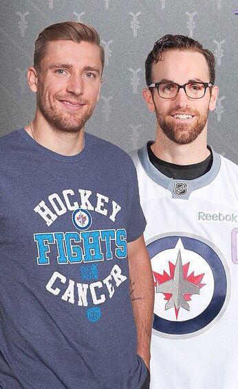 Blake Wheeler & Andrew Ladd - Winnipeg Jets