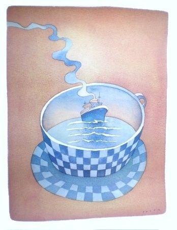 folon-bateau-dans-la-tasse--1979-