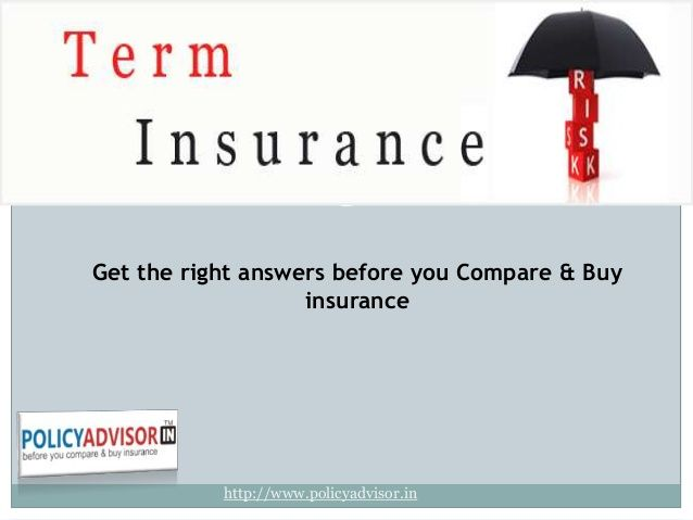 find all the basic information on term insurance like what is term insurance? Who should buy term insurance plan? Why should you prefer buying term insurance plan online? Advantages of Term Insurance