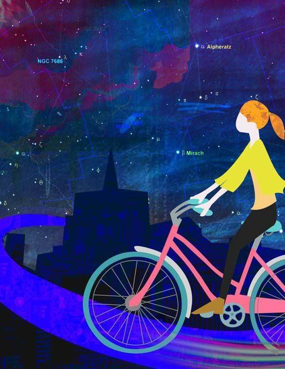 Bicicleta Illustrator