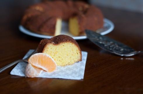 Orange cornmeal cake | Desserts to try | Pinterest
