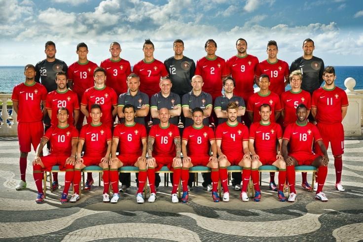 Portugal National Soccer Team2012