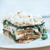 Recept - Pannenkoekentaart met spinazie - Allerhande