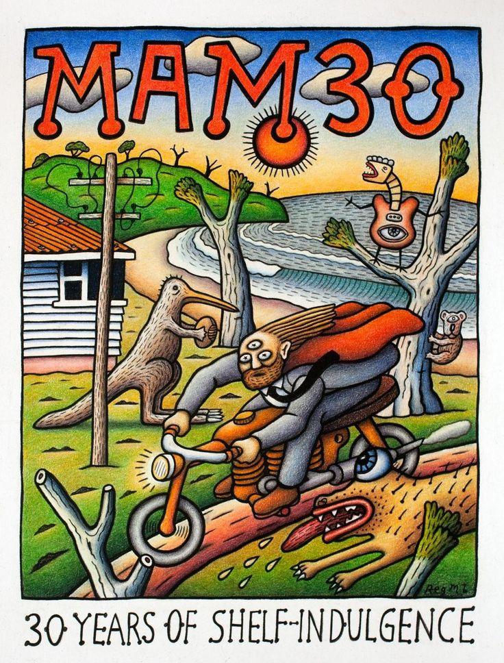 Mambo exhibition   Art   Poster