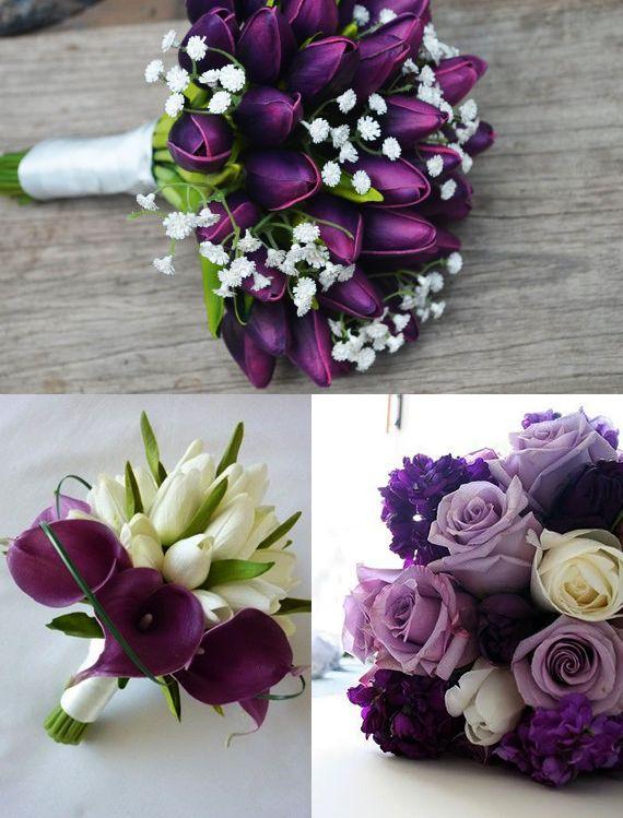 Ideen Fur Raffinierte Blumendeko Hochzeit Mit Tulpen Brautstrauss