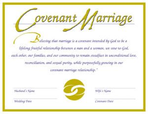 I Like The Wording Of These Vows Very Precise Covenant MarriageThe