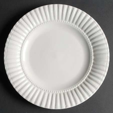 Elegant Thomson Maison White Dinner Plate, Fine China Dinnerware By Thomson. $7.99.  Thomson
