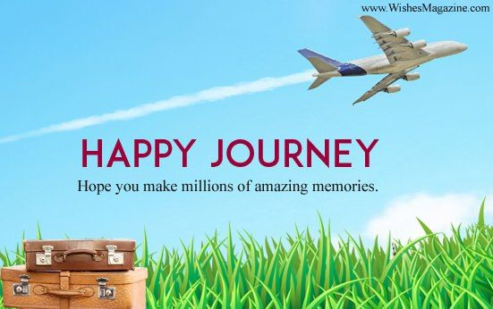 Happy flight wishes