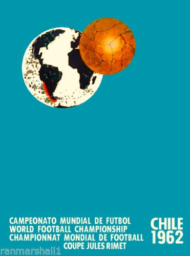 1962-World-Cup-Soccer-Football-Chile-Sports-Travel-Advertisement-Poster