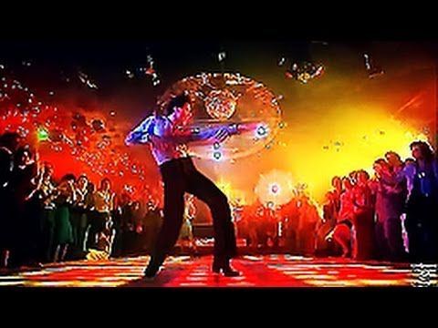 "John Travolta Saturday Night Fever - Bee Gees ""You Should be Dancing"""