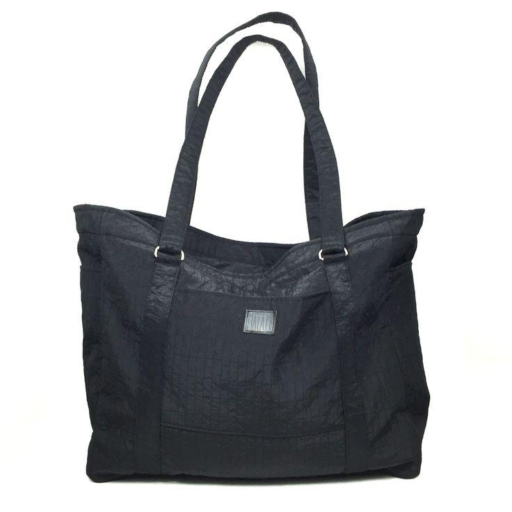 Black weekender Gym bag