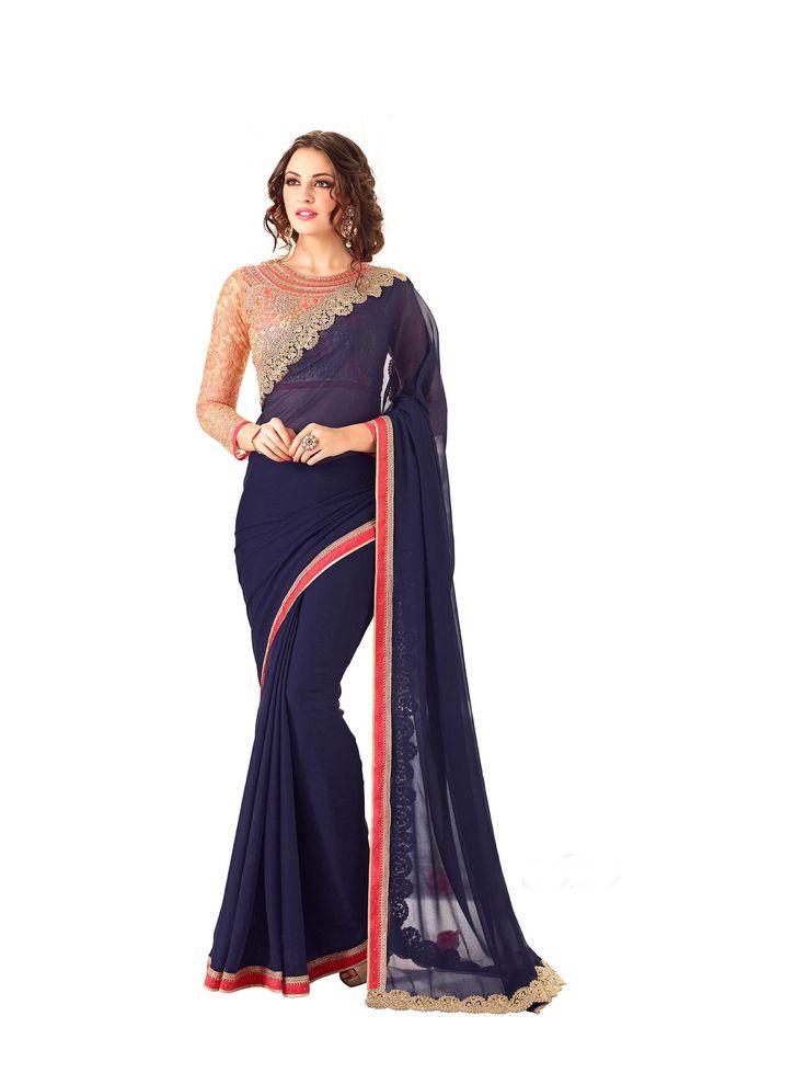 https://flic.kr/s/aHsm4ipEww   KCRT_1844   Heavy Designer Party Wear Saree Collections...