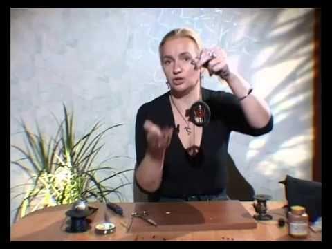 Как сделать шикарные украшения из кожи своими руками. Мастер класс. - YouTube
