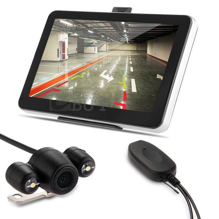 """7"""" Car GPS Navigation Bluetooth AV-IN + Wireless Reverse Camera + Map #UnbrandedGeneric"""