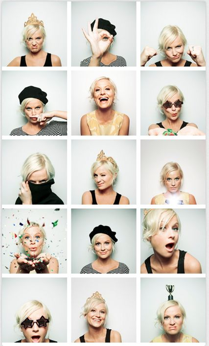 love amy poehler!! And these poses are super cute for a senior girl