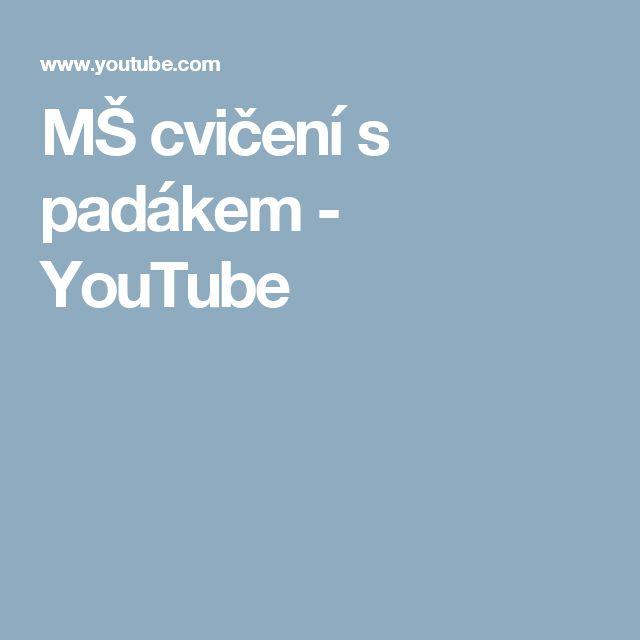 MŠ cvičení s padákem - YouTube