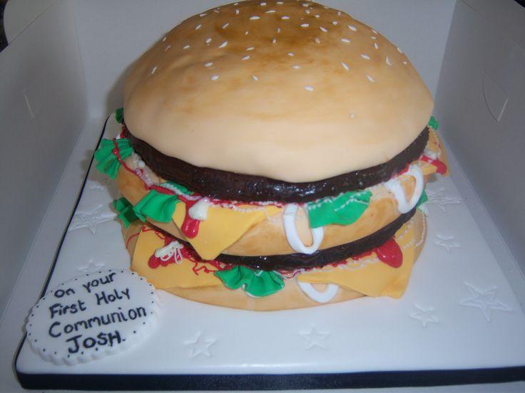 Burger Cake yum!
