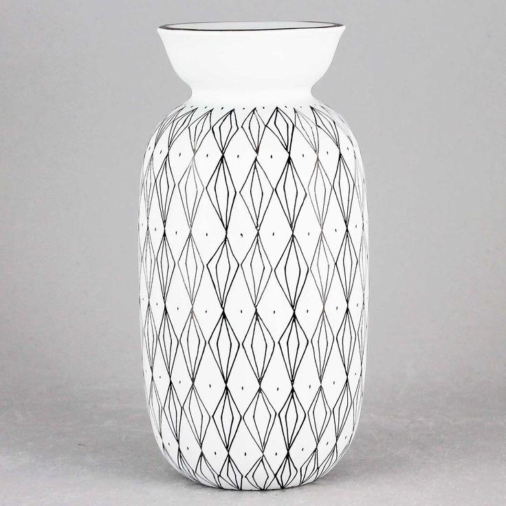Stig Lindberg (Filigran 1951) Swelling Graphical Vase