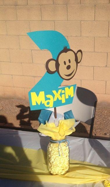 "Photo 4 of 43: Mod Monkey / Birthday ""Maxim's Mod Monkey Bash!"" | Catch My Party"