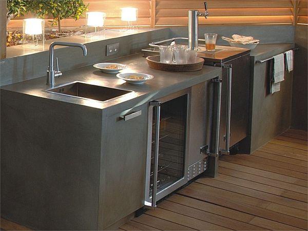 Betrox concrete kitchen worktop 2
