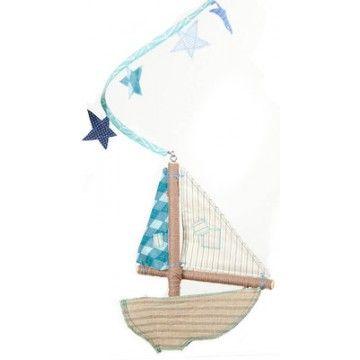 Sailboat Mobile: Sailboats Motif, Adventure, Kids Interiors, Kind Sailboats, Colors Palettes, Blue Colors, Boys Room, Sailboats Mobiles, Little Boys