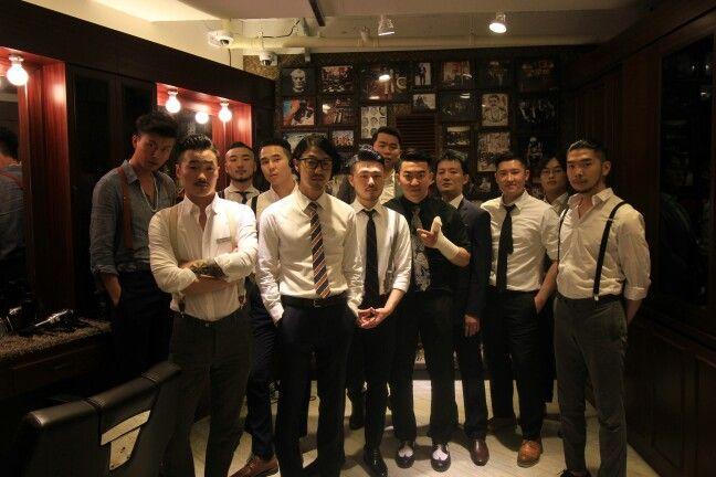 Bombmme family     #barbershop #pomade # boss #ranjo #shaves #cut #hongik #JackLivesHereKR #korea #bombmme