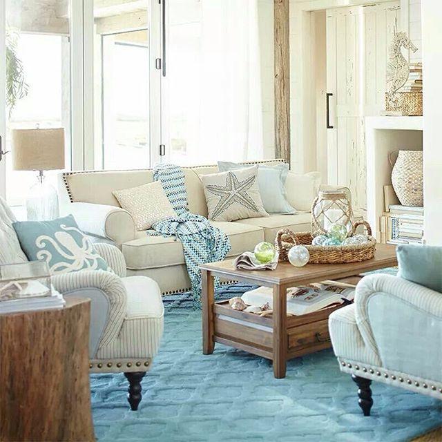 Beach Cottage Style On Pinterest: 1295 Best Beach House Inspiration ⚓ Coastal Home Decor