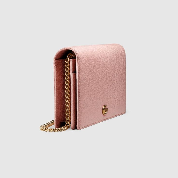 Gucci GG Marmont leather mini chain bag  Detail 5 GG Marmont leather mini chain bag    $ 895
