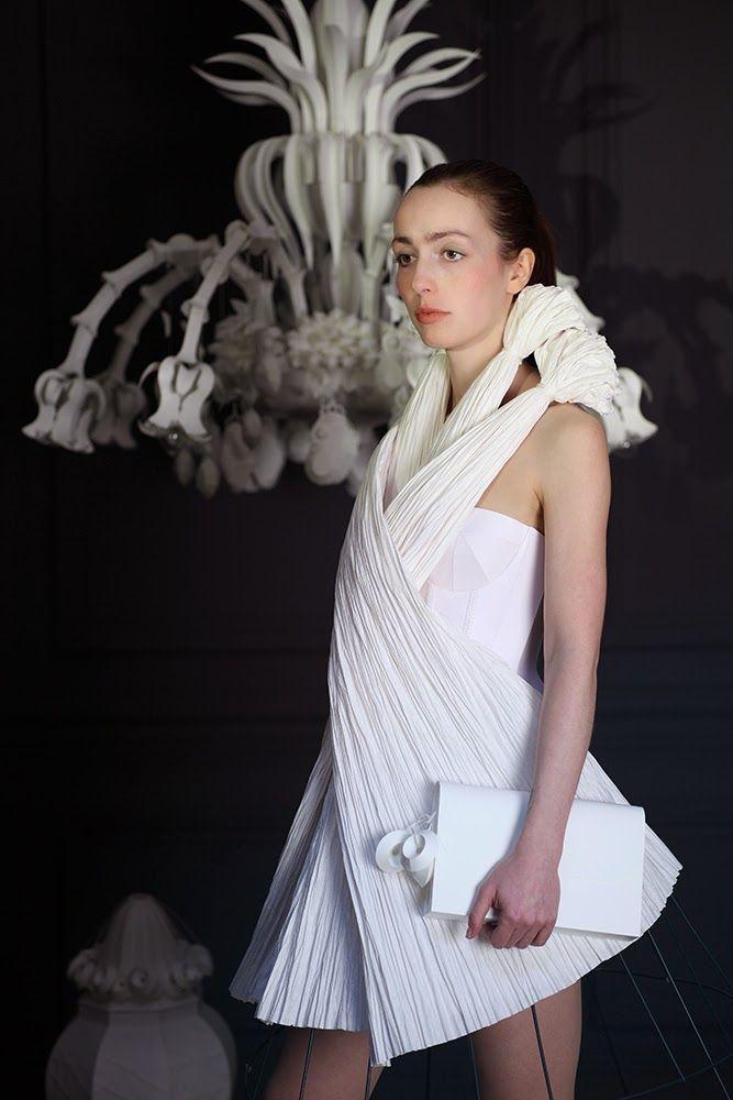 Paper Dress No. 68  by Tobias Binderberger